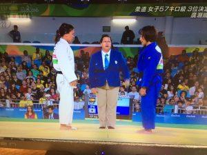 3位決定戦に挑む広瀬順子選手